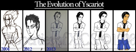 The Evolution of Yscariot. Original concept of