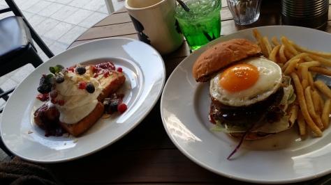 JS Burgers Cafe in Shibuya, Tokyo, Japan.