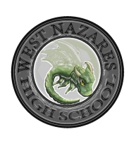 Concept of the Badge of West Nazares High School created by Rin & Marcus