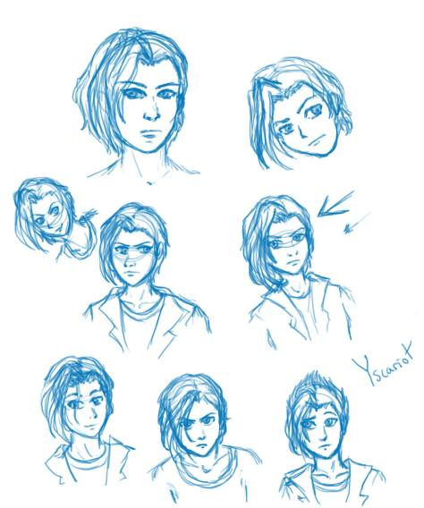 Faces of Yscariot by Cassy (March 3rd, 2015)