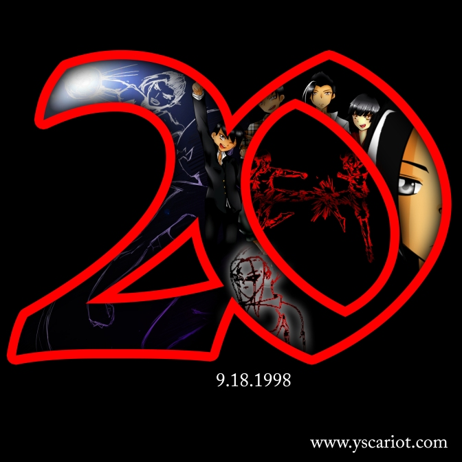 Yscariot: Now 20 Years!